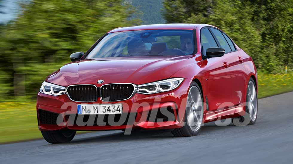 BMW Serie 3: la revolucionaria nueva generación que viene
