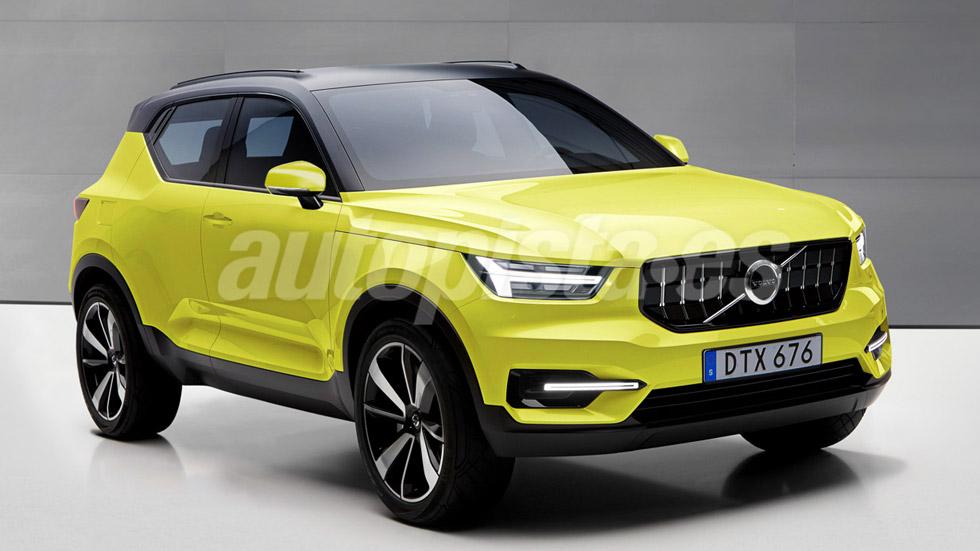 Volvo Xc40 El Nuevo Suv Rival De Bmw X1 Y Mercedes Gla Autopista Es