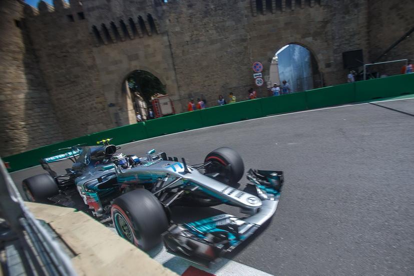 GP de Azerbaiyán de F1: el Mercedes de Bottas fue el más rápido de la FP3