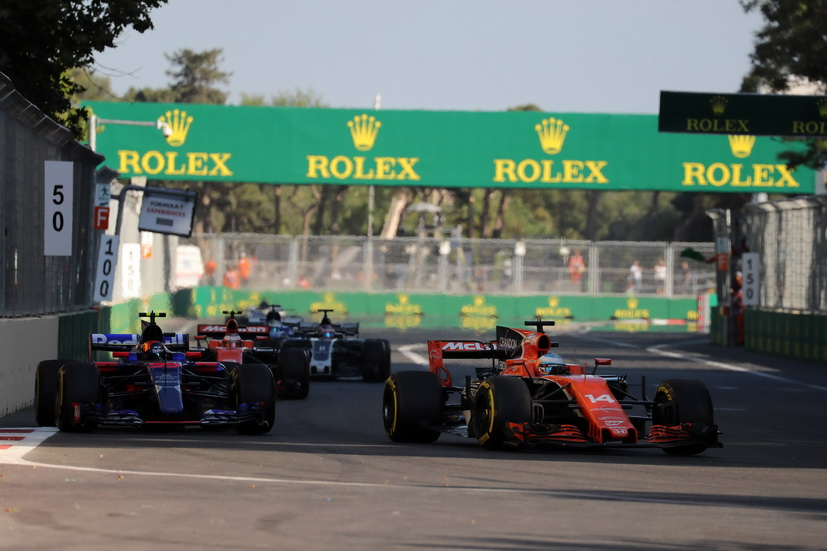 GP de Azerbaiyán de F1: primeros puntos para Alonso