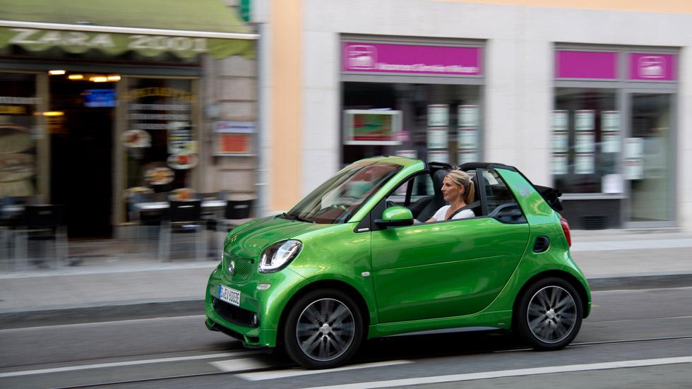 Smart Fortwo Eléctrico Cabrio: ¡probamos un urbano de referencia!