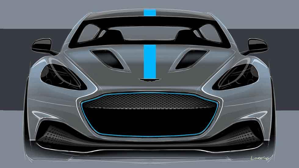 Aston Martin confirma la producción de su primer eléctrico: RapidE