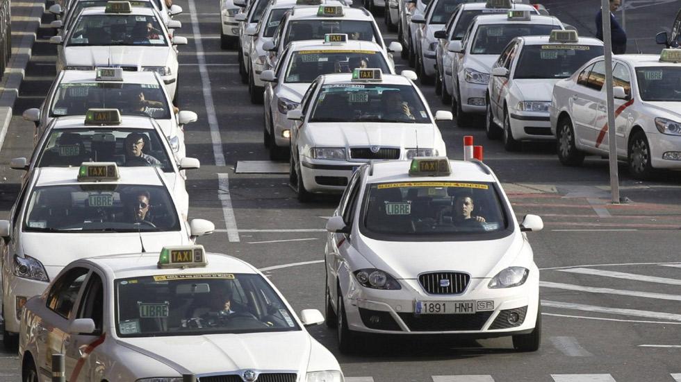 Nueva huelga de taxis para protestar contra Uber y Cabify