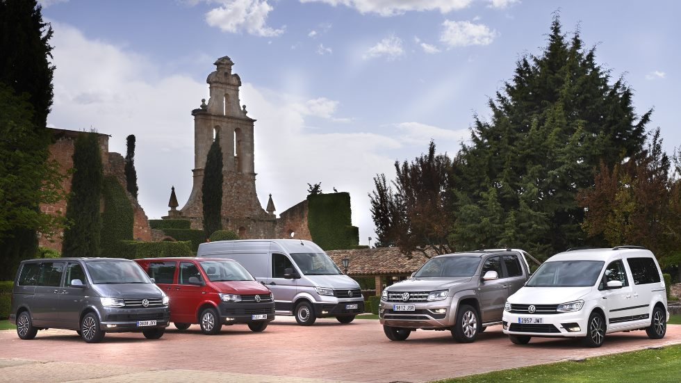 Las nuevas furgonetas de VW: Crafter, Multivan Outdoor, Caddy a gas…