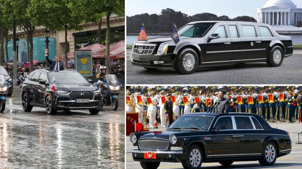 Los presidentes viajan en coche: ¿cuáles son sus vehículos oficiales?