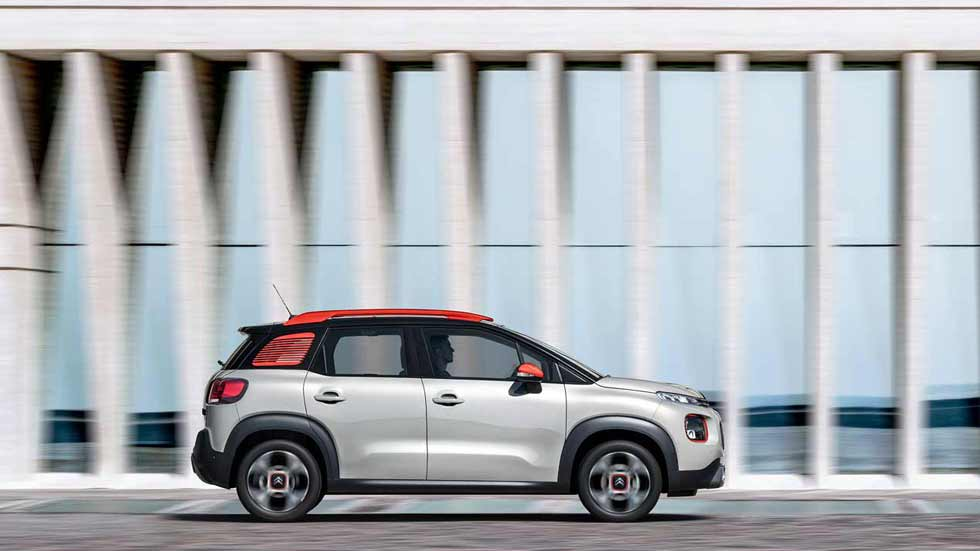 Así es el nuevo SUV Citroën C3 Aircross, en movimiento