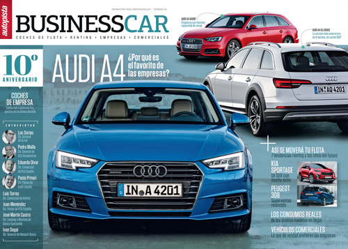La revista BUSINESS CAR cumple 10 años