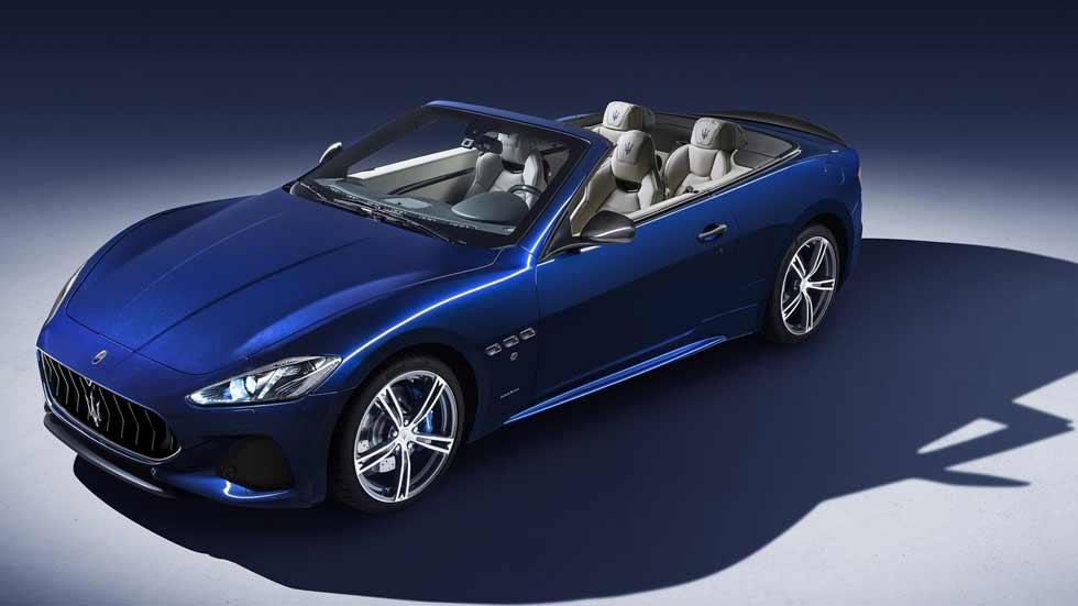 Maserati GranCabrio 2018: un descapotable aún más bello y moderno