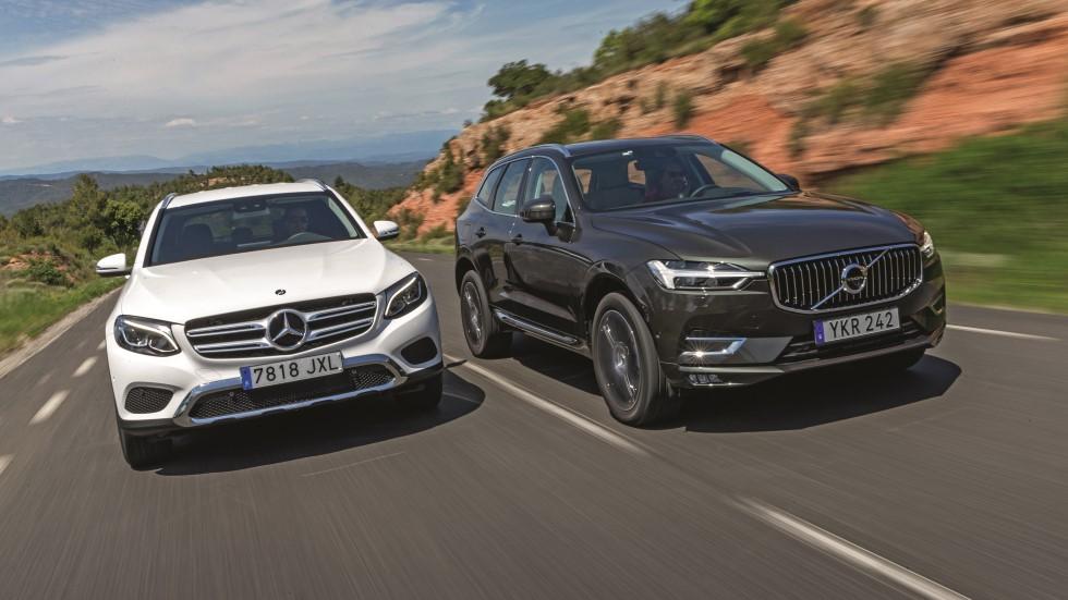Mercedes GLC vs Volvo XC60: ¿qué SUV es mejor?