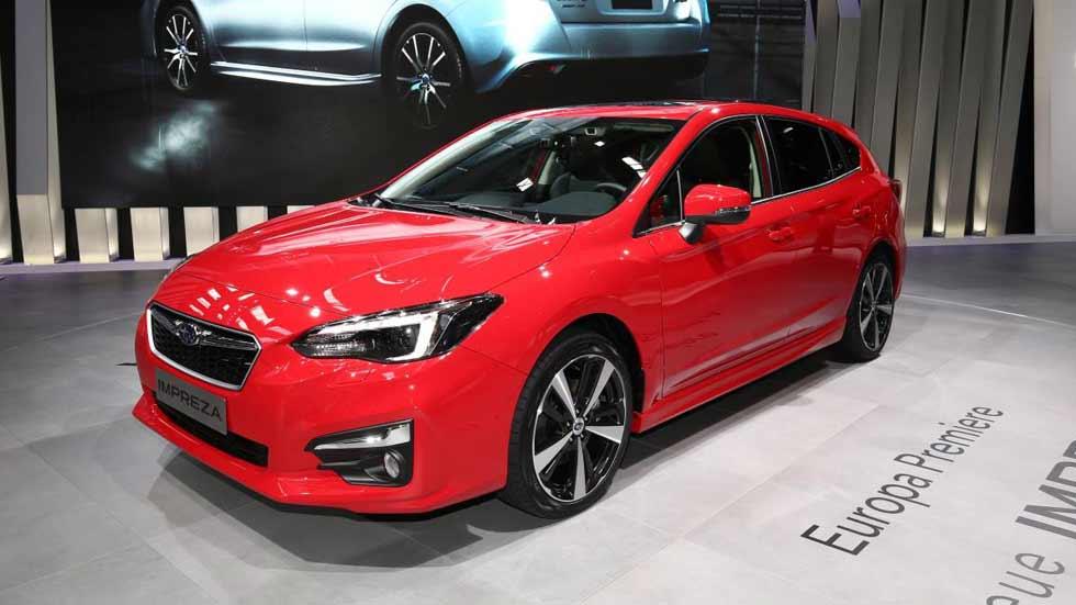 El nuevo Subaru Impreza debuta en el Salón de Frankfurt