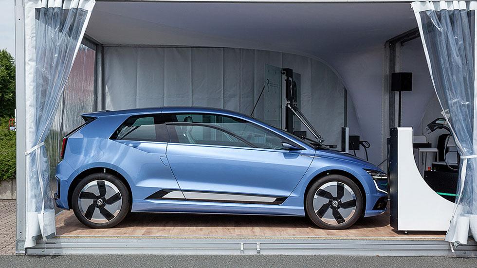Volkswagen GEN.E ¿Y si fuera así el futuro Golf?