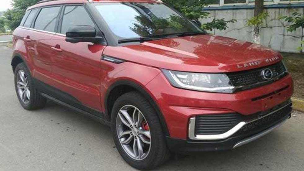 La copia china del SUV Range Rover Evoque… ya es menos copia