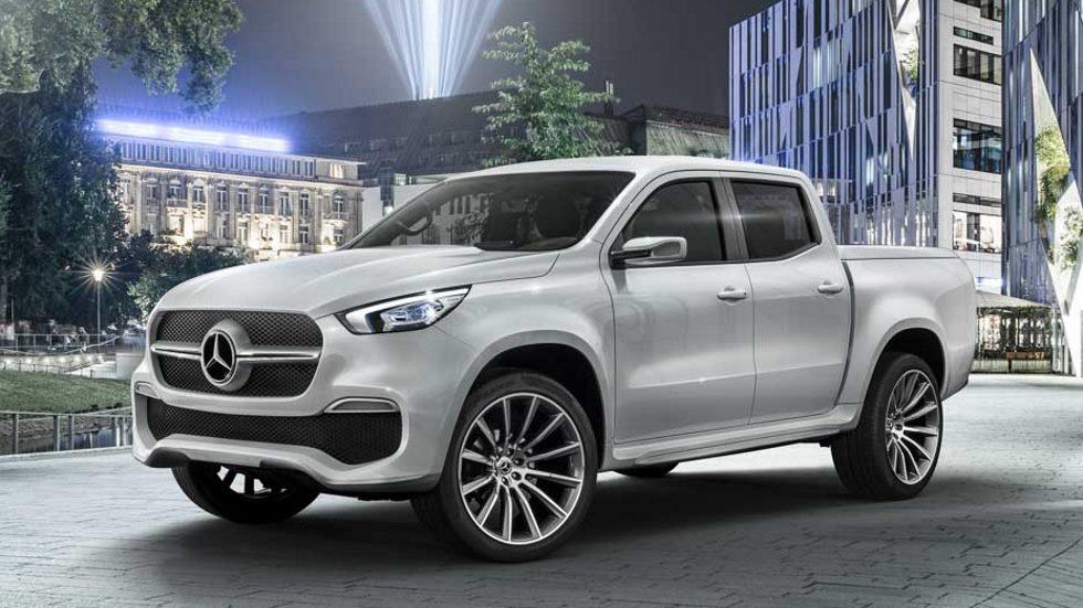 Mercedes Clase X: así es la primera pick-up premium (vídeo)