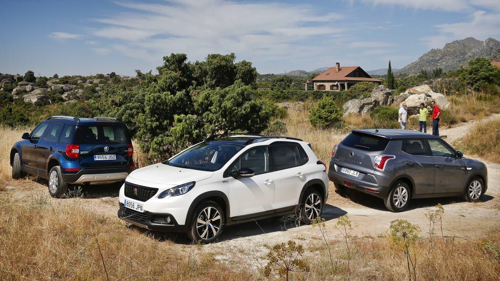 Peugeot 2008, Skoda Yeti y SsangYong Tivoli: ¿qué SUV elegir?