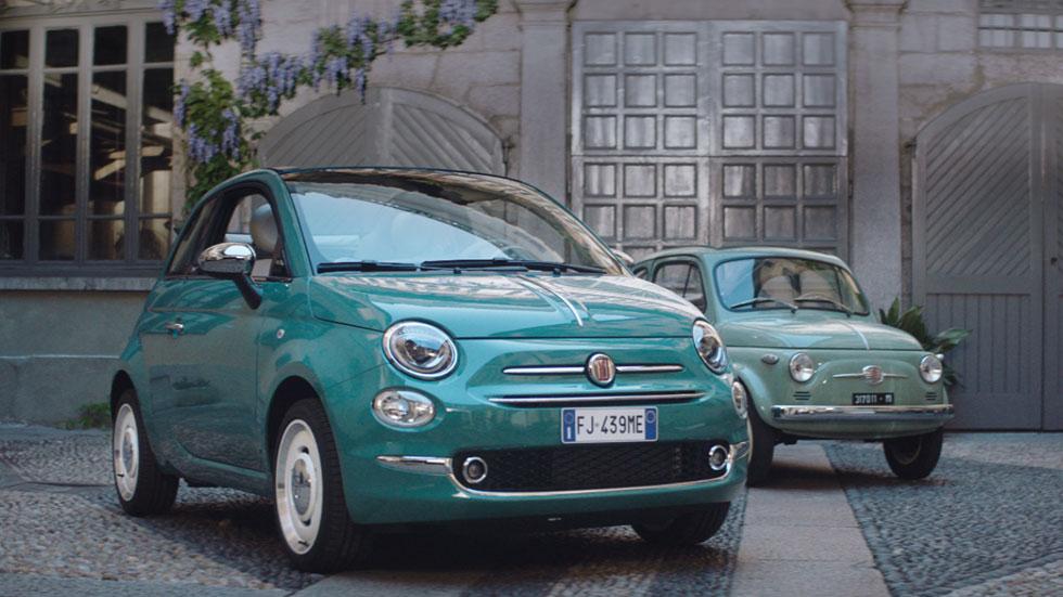 Fiat 500, un coche eterno del pasado al futuro (vídeo)