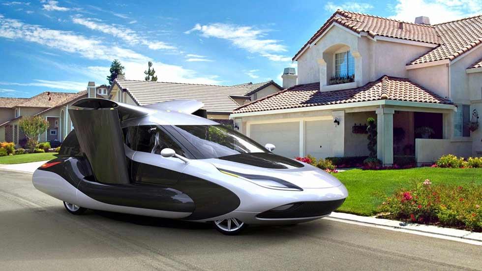 Geely, la matriz de Volvo, compra el coche volador de Terrafugia (vídeo)