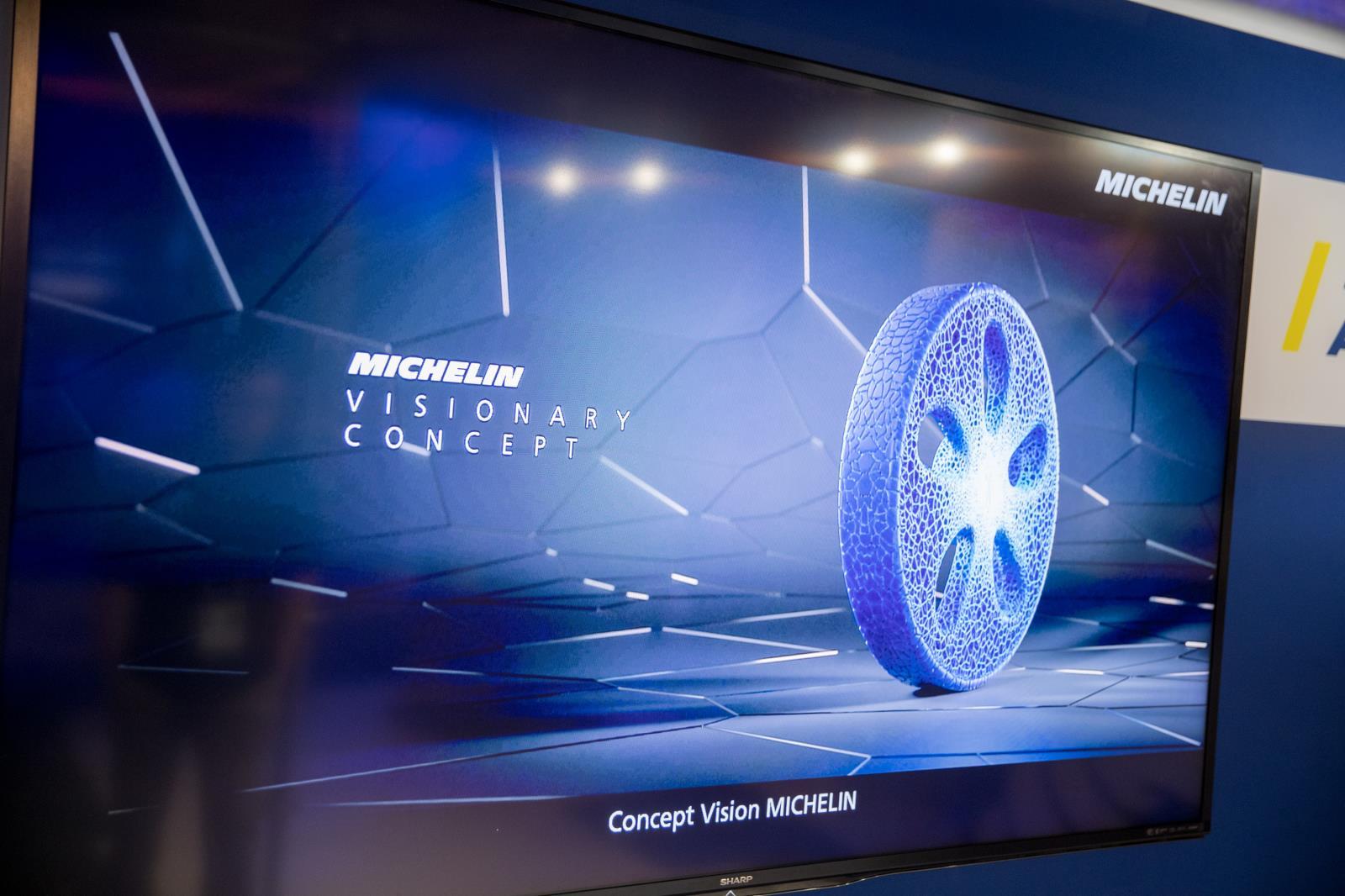Michelin Vision: así será el neumático del futuro