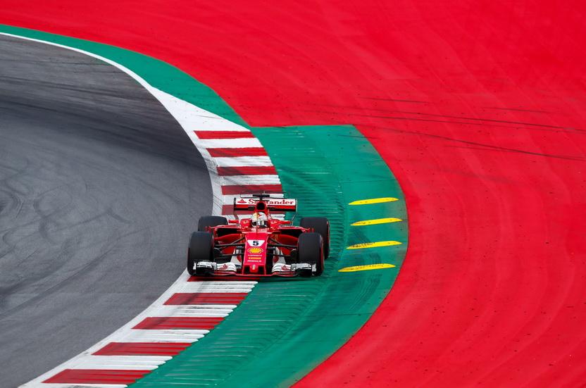 GP de Austria de F1: Vettel fue el más rápido el sábado en la FP3