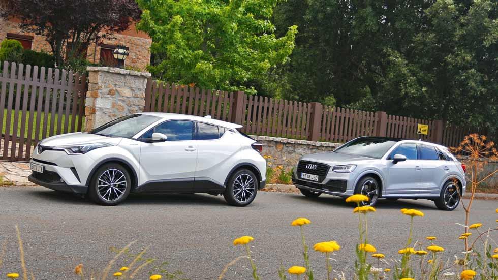 Revista Autopista 3.016: ¿Audi Q2 o Toyota C-HR, qué SUV es mejor?