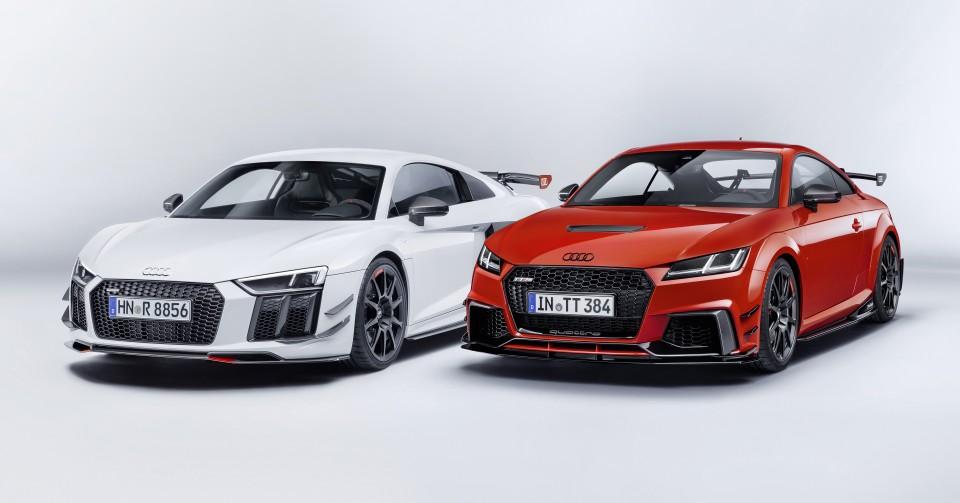 Audi Sport Performance Parts: los TT y R8, aún más fieros y personales