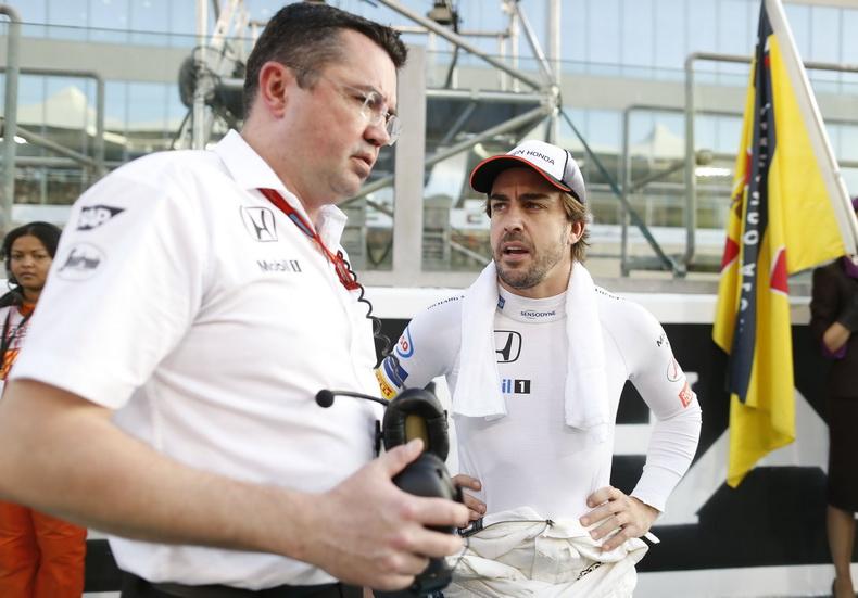 Eric Boullier no sabe si Alonso continuará en McLaren