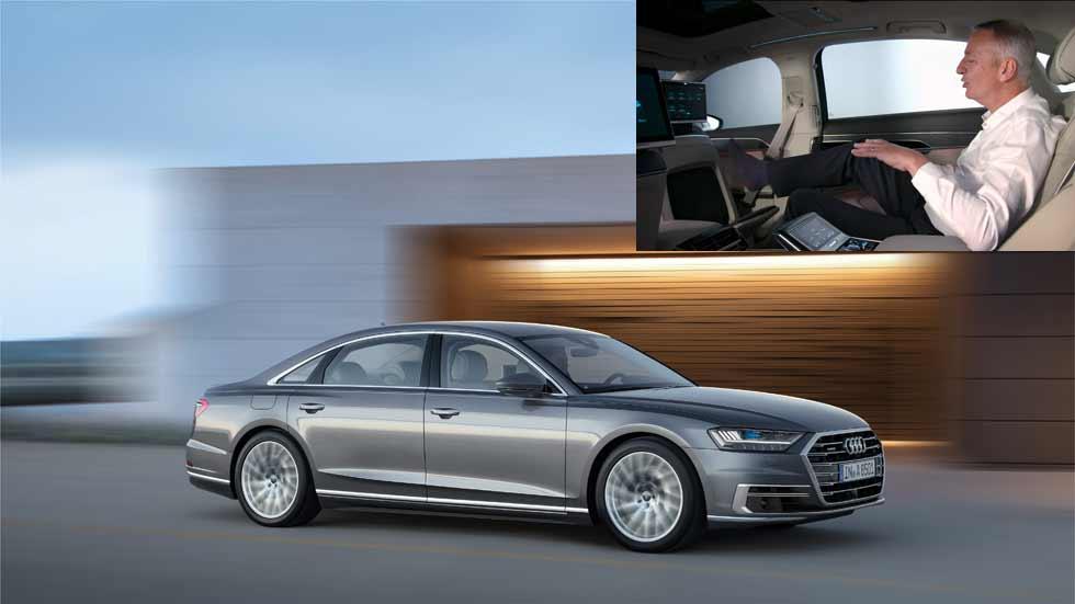 Audi Fit Driver: más allá del masaje en los pies del Audi A8