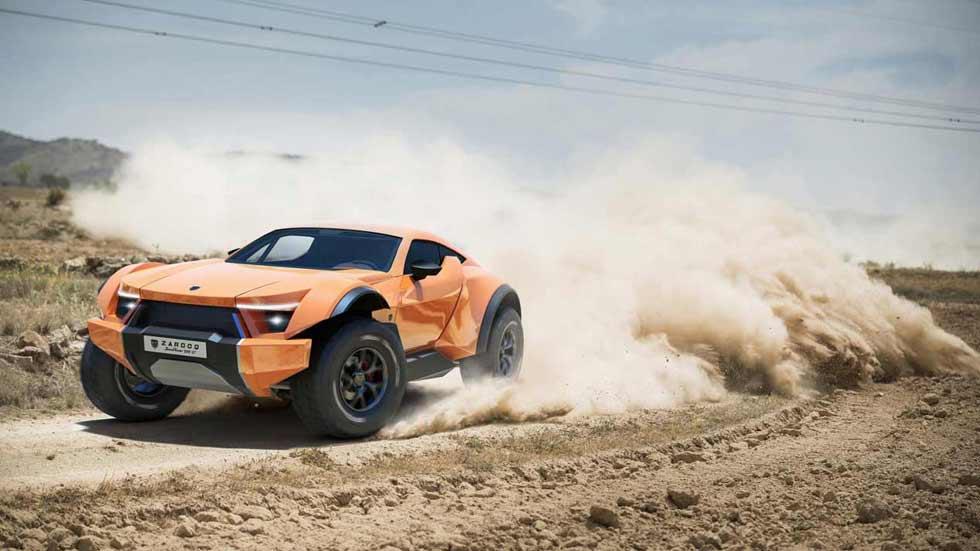Zarooq Sand Racer, el SUV más bestia del momento