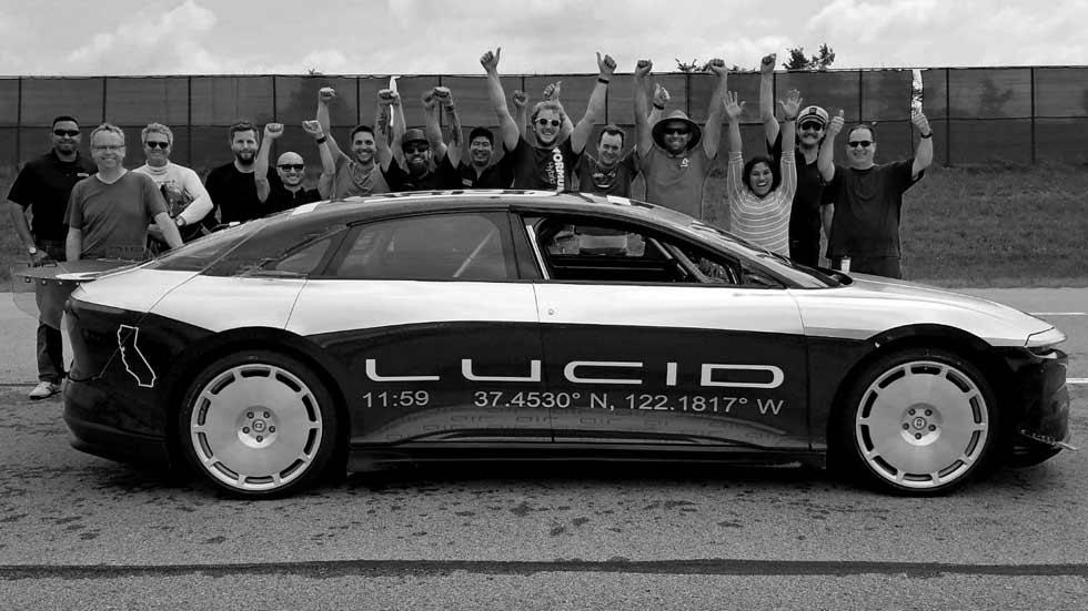 Lucid Air Alpha: el súper coche eléctrico que alcanza los 380 km/h (vídeo)