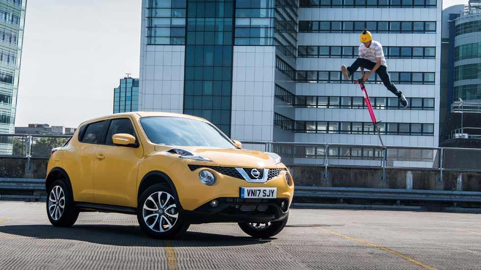 Nissan JukeCam: el SUV urbano, ahora con cámara que graba en 360º