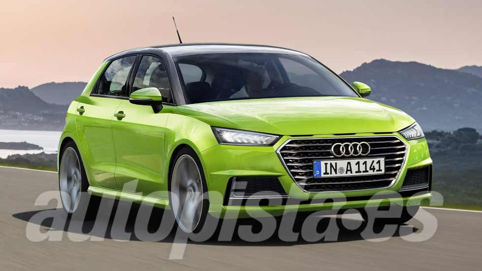 """Audi A1 2018: así será el nuevo """"Ibiza"""" premium"""