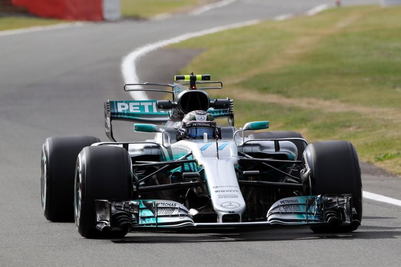 GP de Gran Bretaña de F1: Bottas, el más rápido durante la FP1