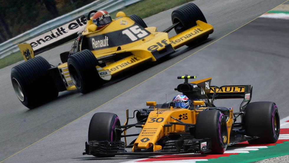 Renault cumple 40 años en la Fórmula 1, ¡felicidades! (vídeo)