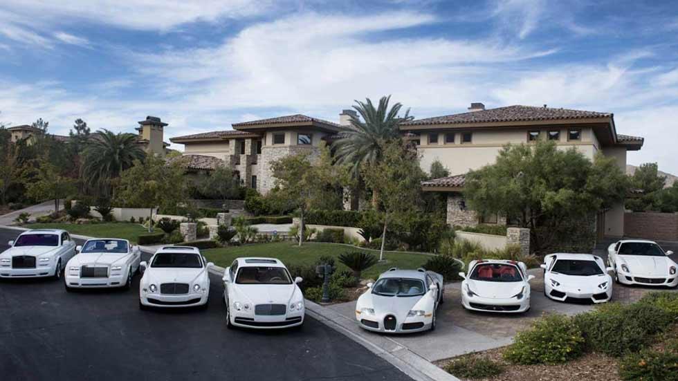El combate del siglo: los coches de Floyd Mayweather vs Conor McGregor