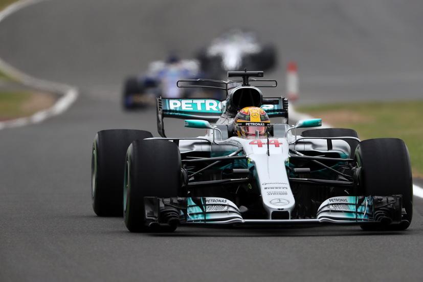 GP de Gran Bretaña de F1: impresionante pole position la de Lewis Hamilton