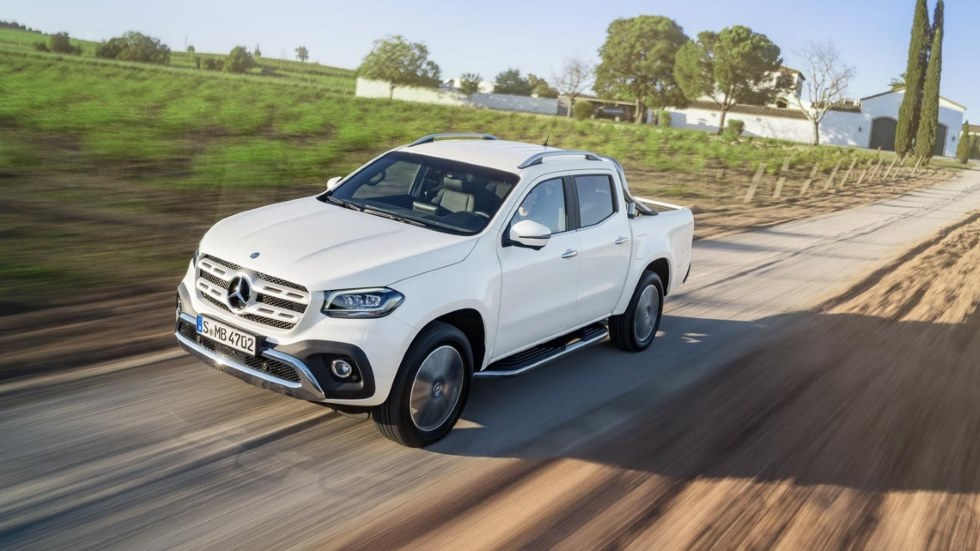 Mercedes Clase X: pick-up y SUV, todo en uno