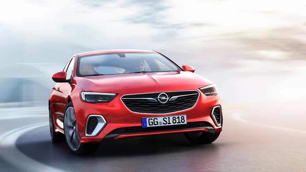 Opel Insignia GSi: la versión deportiva llega desde Nürburgring