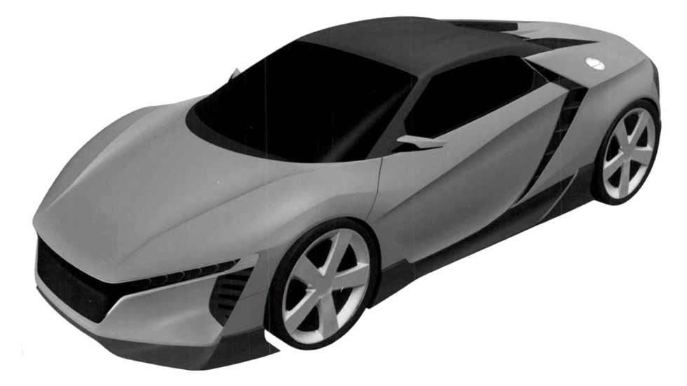 Honda patenta un nuevo deportivo: ¿el baby NSX? ¿El nuevo S2000?