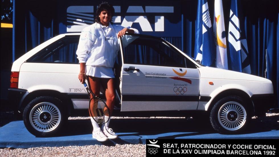 La historia secreta del Seat Ibiza I: el coche oficial de Barcelona'92