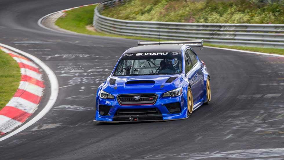 Un Subaru WRX STi bate el récord en Nürburgring de un sedán