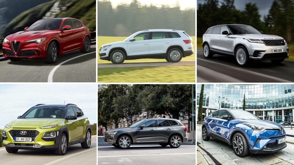 Los SUV revelación del año: Velar, XC60, Stelvio, 3008, C-HR, Ateca…