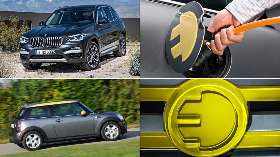 Los BMW y Mini eléctricos del futuro: X3, Mini E y muchos más...