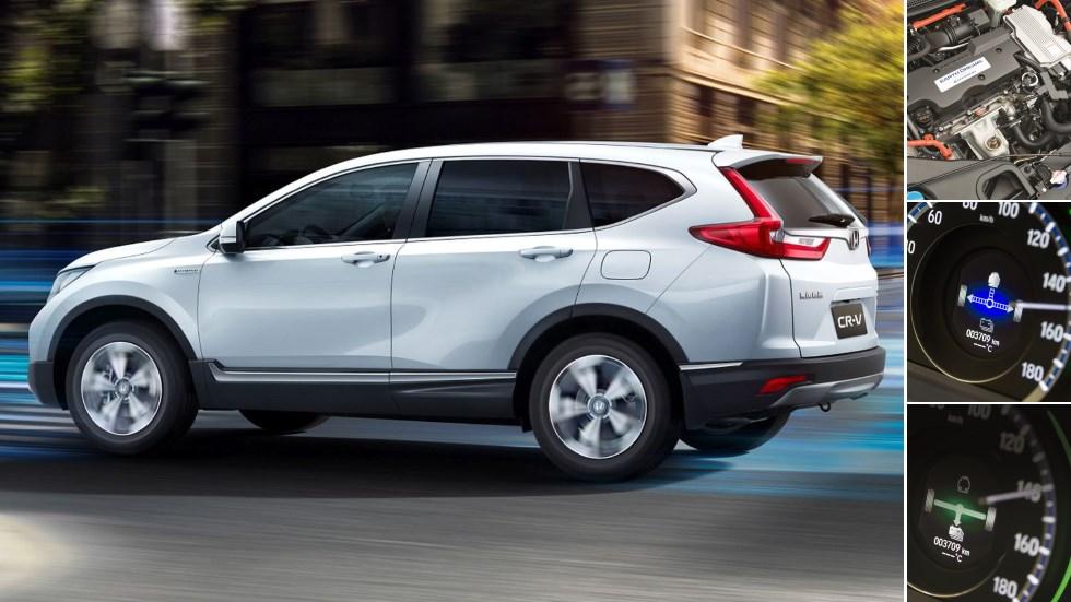 Sport Hybrid i-MMD: el sistema híbrido que estrenará el Honda CR-V