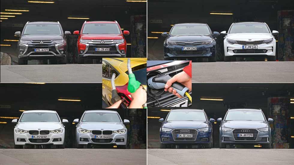 Coches Diesel, gasolina e híbridos plug-in: ¿cuál es la mejor compra?