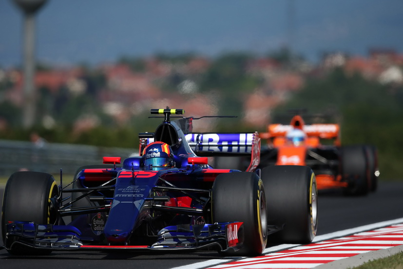 GP de Hungría de F1: Sainz mejoró por la tarde en la segunda libre