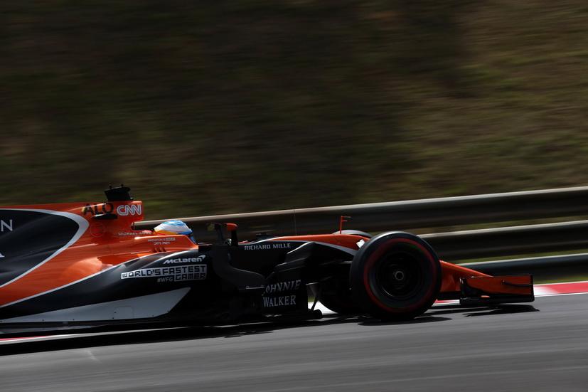 GP de Hungría de F1: 52 vueltas dio Alonso al Hungaroring