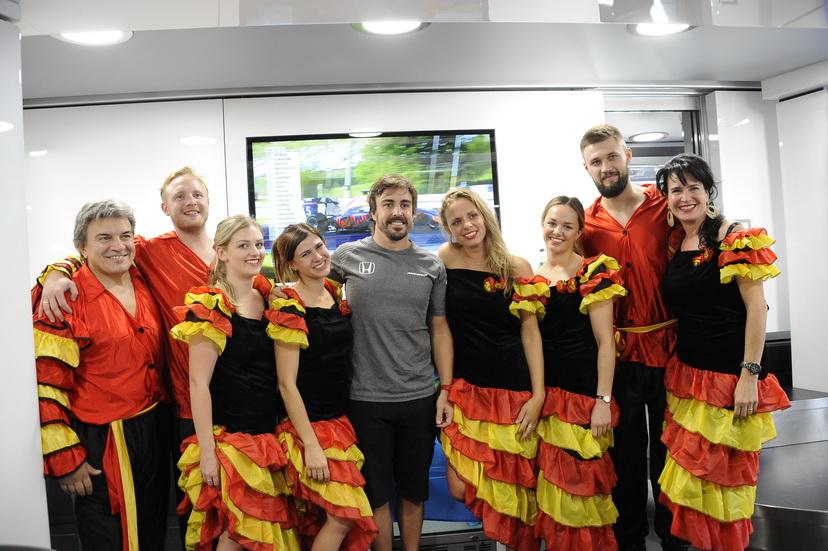 GP de Hungría de F1: así celebró Alonso su cumpleaños