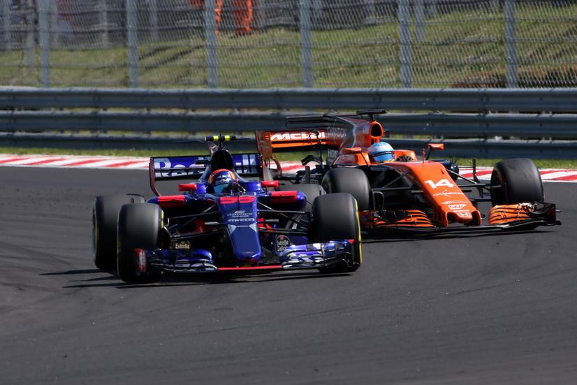 GP de Hungría de F1: Sainz terminó en los puntos
