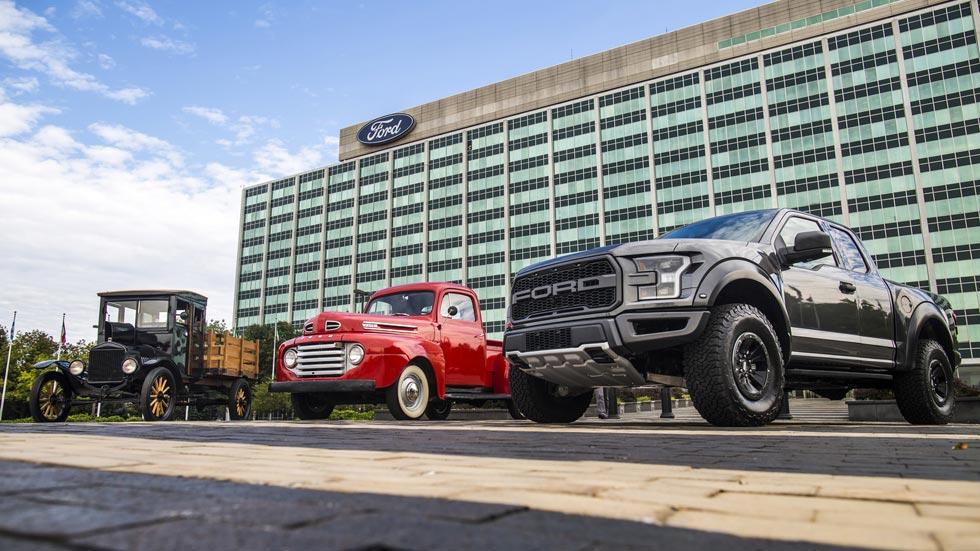 Ford: 100 años fabricando pick-up, del Model TT al F-150