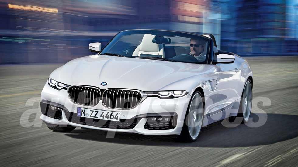 BMW Z4 2018: primeros datos y fotos