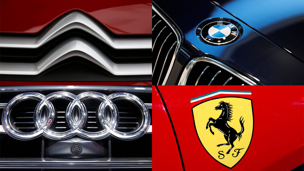 Logotipos y nombres de las marcas de coches: sus significados (de la A a la F)
